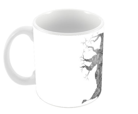 The Tree Coffee Mugs | Artist : DoodlesToodles