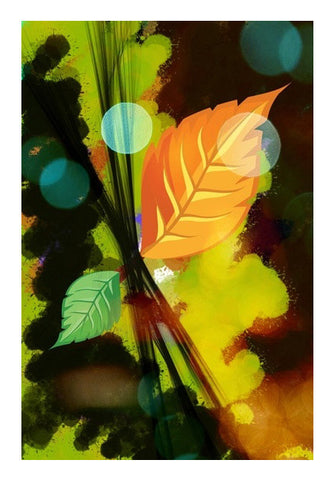 Wall Art, Last Leaf Wall Art | Anushree, - PosterGully