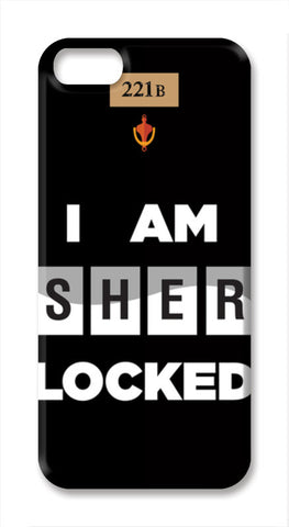 SHERLOCKED!!! iPhone SE Cases | Artist : Naman Kapoor