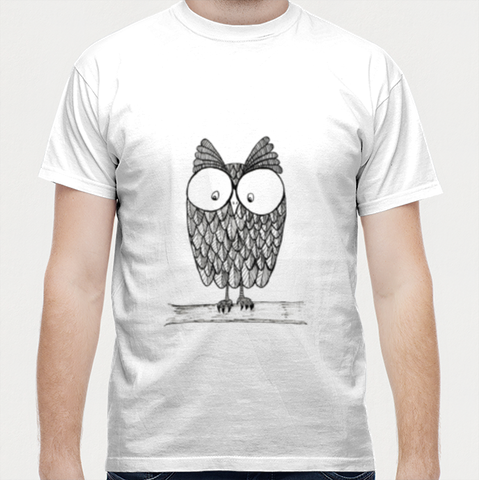 Men T Shirts, Nocturnal Men T Shirts | Artist : Ashritha Rao, - PosterGully - 1
