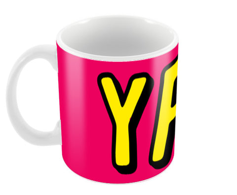 Yay Coffee Mugs | Artist : Harpreet Kaur