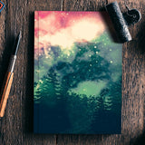 Galactic backyard  Notebook | Artist : nilesh gupta