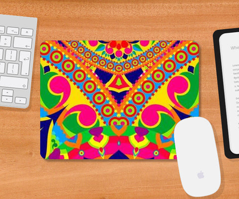 Mousepad, Rangoli Mousepad | Artist : Anushree Ghosh, - PosterGully