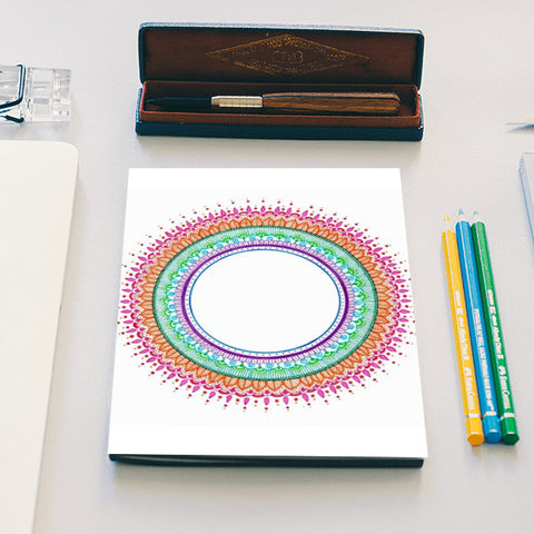 MANDALA GYAN Notebook | Artist : The Doodler dentist