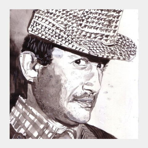 Dev Anand Was A Spirited Superstar Square Art Prints PosterGully Specials