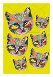 Wall Art, kitty poster | Devina Jain, - PosterGully