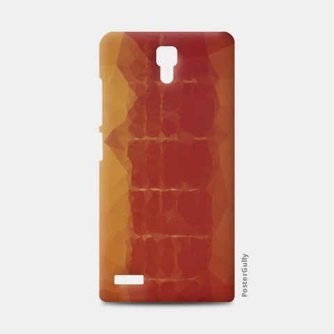polygonal guitar  Redmi Note Cases | Artist : Aakarsh Sharma