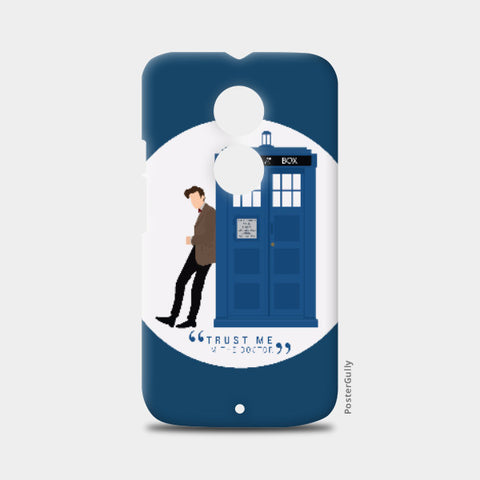 Moto X2 Cases, The Doctor and TARDIS Moto X2 Case | Artist: Mohak Gulati, - PosterGully