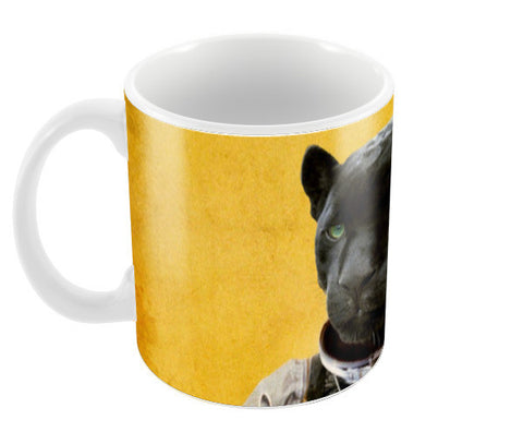 Space Jag Coffee Mugs | Artist : Durro Art