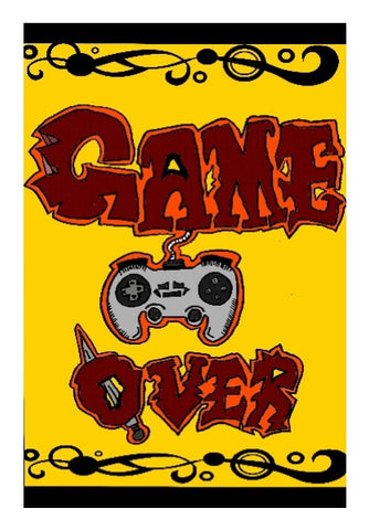 Wall Art, GAME OVER Wall Art | Aishwarya Menon, - PosterGully