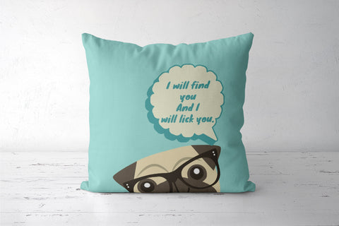 Puppy Love Cushion Cover | Artist: Vidushi Jain