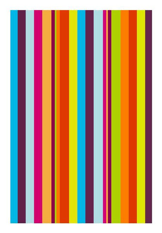 PosterGully Specials, Vibrant Stripes Wall Art | Artist : Vaishak Seraphim, - PosterGully