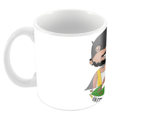 Batman Chetta Coffee Mugs | Artist : Doodleodrama