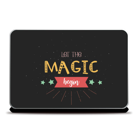 Magic Laptop Skins | Artist : Arpita Gogoi