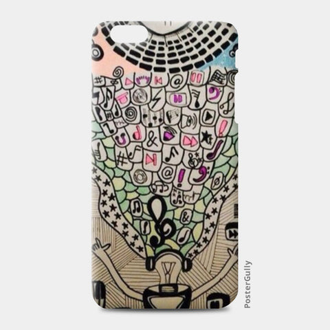 Rock On iPhone 6 Plus/6S Plus Cases | Artist : Purvisha Sharma
