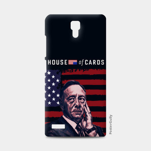 Frank Underwood | House Of Cards Redmi Note Cases | Artist : Aninya Gangal