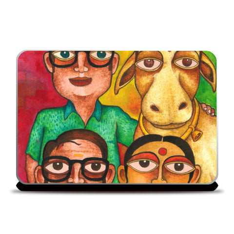 Our Desi Bride Laptop Skins | Artist : Rohit B