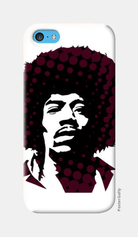 iPhone 5c Cases, Jimi Hendrix iPhone 5c Case | Artist: Athul Menon, - PosterGully