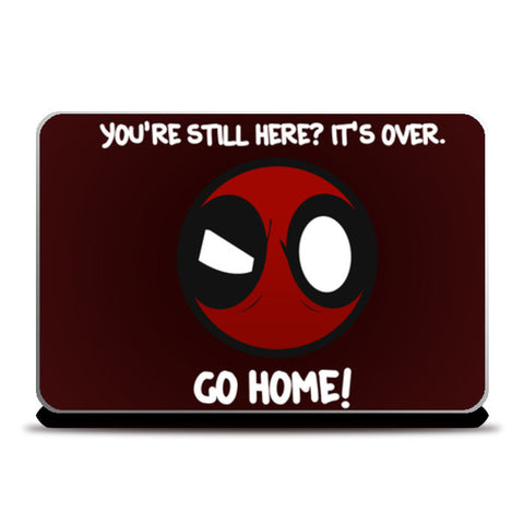 Laptop Skins, Deadpool Laptop Skins | Artist : Tushar Gupta, - PosterGully