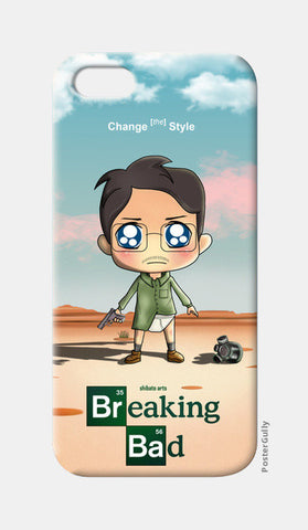 iPhone 5 Cases, Breaking Bad Chibi Style iPhone 5 Cases | Artist : Toshib Bagde, - PosterGully