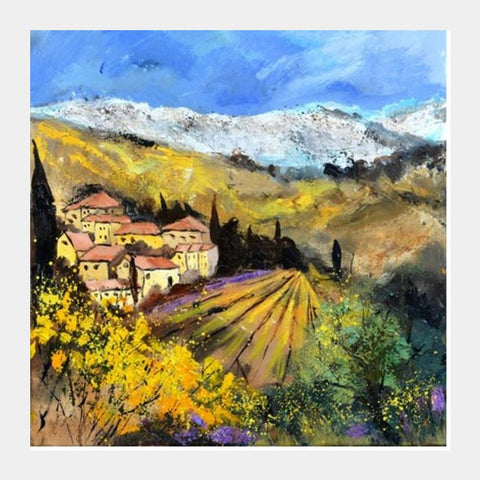 PosterGully Specials, provence 8851602 Square Art Prints | Artist : pol ledent, - PosterGully