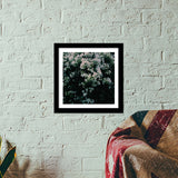 Spring Flowers / Summer Bloom Premium Square Italian Wooden Frames | Artist : nandita sharma