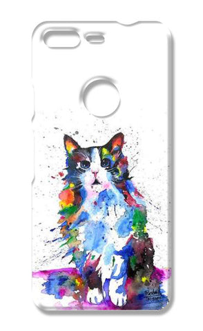CLARITY | ARTWORK | CAT  Google Pixel Cases | Artist : Prashant Singh