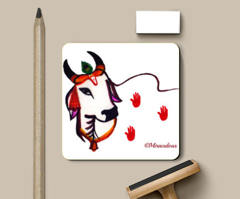 Gaiya | The adorable Indian Cow Coasters | Artist : Miraculous