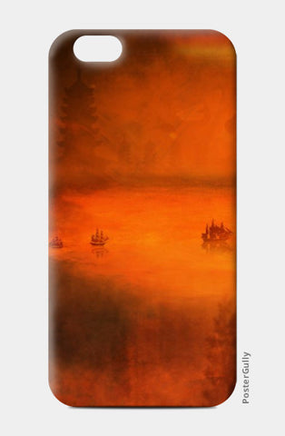 iPhone 6 / 6s, TANGERINE TRANQUILITY iPhone 6 / 6s Case | Artist: Karthik Gowrisankar, - PosterGully