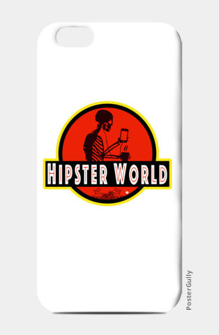 iPhone 6/6S Cases, Hipster World iPhone 6/6S Cases | Artist : Bum from the Bay, - PosterGully