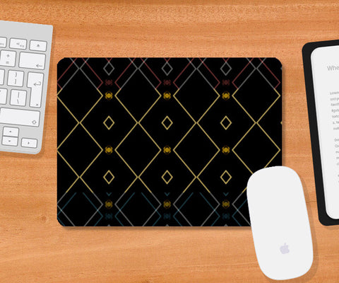 Pattern design in black Mousepad | Artist : Amar Singha