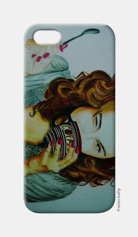 iPhone 5 Cases, HappinessIs Coffee iPhone 5 Case | Artist : Chahat Suri, - PosterGully