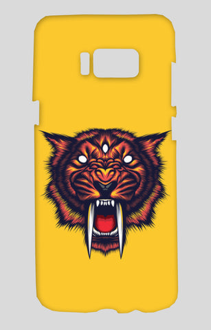 Saber Tooth Samsung Galaxy S8 Cases | Artist : Inderpreet Singh