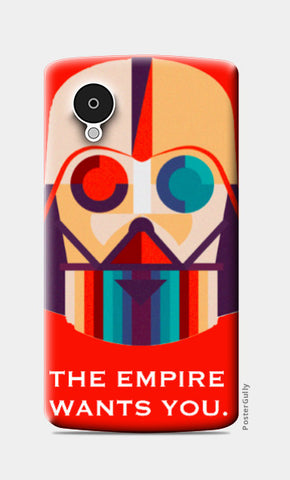 Nexus 5 Cases, The Empire Nexus 5 Case | Artist: Raghav Puri, - PosterGully