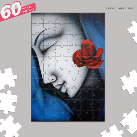 beauty Jigsaw Puzzles | Artist : Pradeesh K