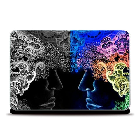 Reflection Laptop Skins | Artist : Khwabeeda