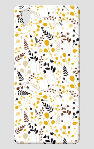 Floral seamless pattern on yellow One Plus X Cases | Artist : Designerchennai