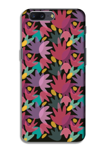 PINK FLORAL OnePlus 5 Cases | Artist : looshmoosh
