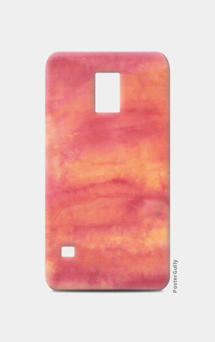 Orange Gradient Samsung S5 Cases | Artist : Ankita Sharma
