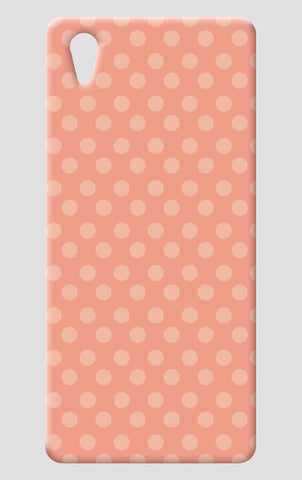Peach Dots One Plus X Cases | Artist : Amantrika Saraogi
