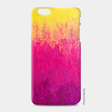 Yellow Pink Pastel iPhone 6 Plus/6S Plus Cases | Artist : Kanika Bardava
