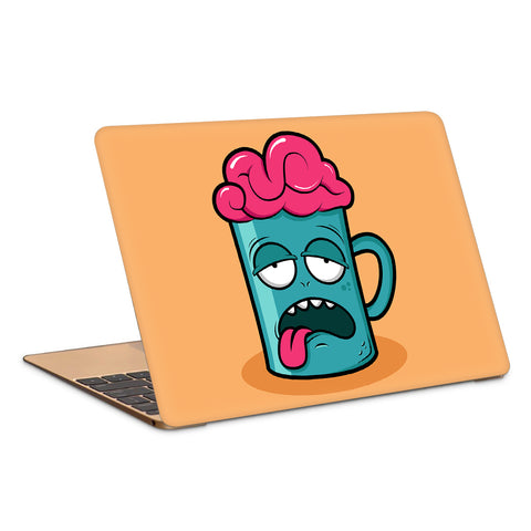 Tired Brain Artwork Laptop Skin