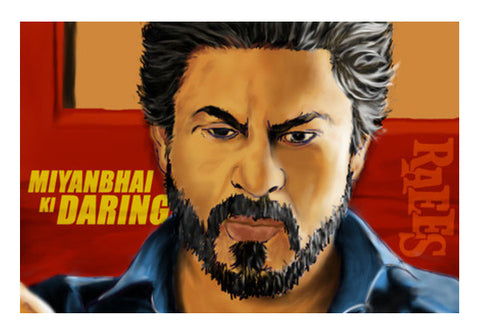 Raees Artwork Art PosterGully Specials