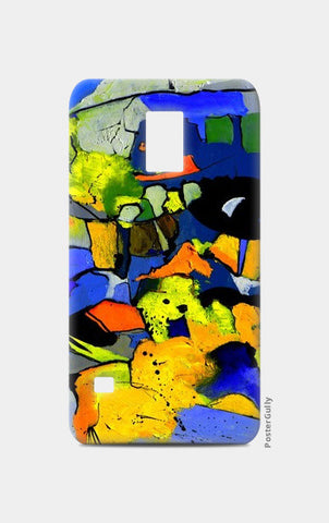 abstract 5561101 Samsung S5 Cases | Artist : pol ledent