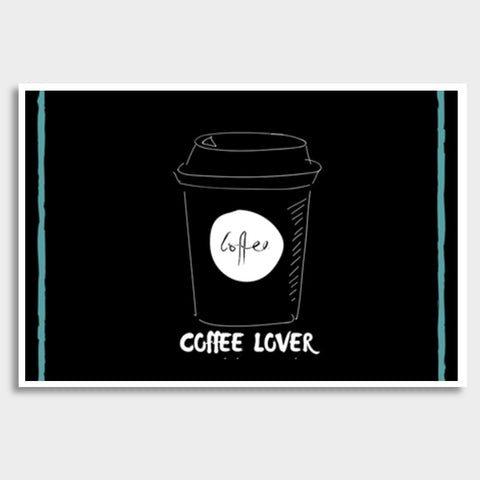 Coffee Lover Giant Poster | Artist : Pallavi Rawal
