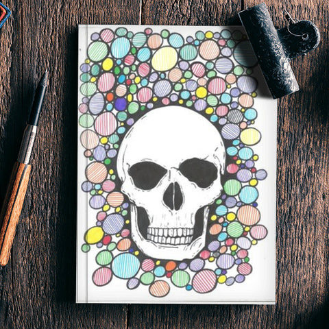 colored death Notebook | Artist : Raj Patel