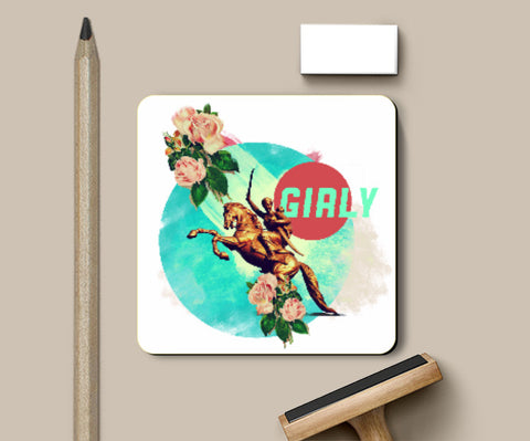 Coasters, Girly Coaster | Deepikah R B, - PosterGully