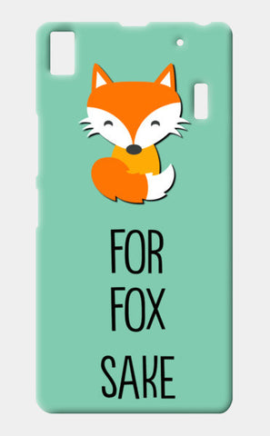 FOR FOX SAKE Lenovo K3 Note Cases | Artist : Manju Nk