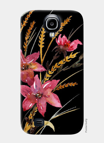 Samsung S4 Cases, Wildflowers Samsung S4 Case I Artist: Seema Hooda, - PosterGully