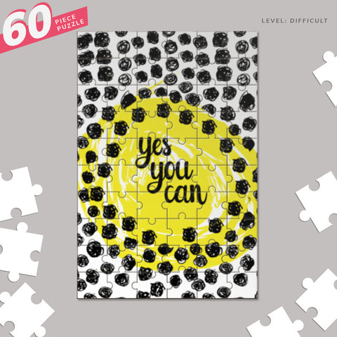 YES YOU CAN Jigsaw Puzzles | Artist : DISHA BHANOT
